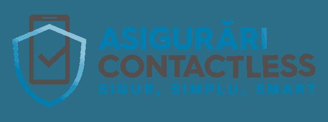 Asigurari Contactless Albastru
